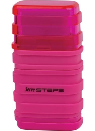 Serve Steps Sılgılı Kalemtıras Pembe Teklı Renkli
